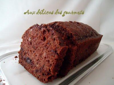 Cake moelleux chocolat, pommes et courgettes - Photo par fimere2