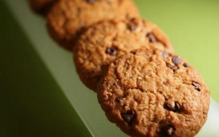 """Cookies au chocolat """"fresh"""" - Photo par Délice & Sens"""