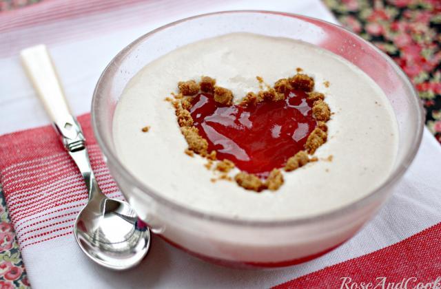 Tiramisu soupe de fraises spéculoos - Photo par rose and cook
