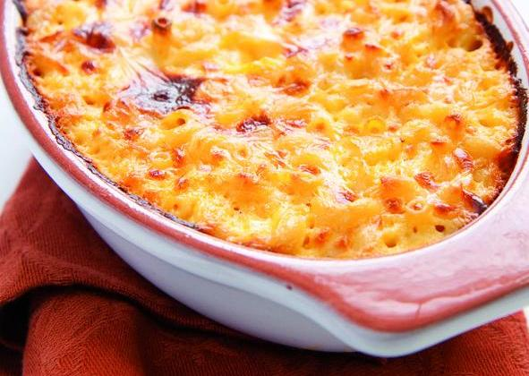 Gratin de pâtes au jambon, gratiné au fromage râpé Gusto Intenso Giovanni Ferrari - Photo par 750g