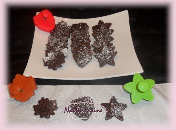 Sablés au chocolat rapides - Photo par Nattycuisine