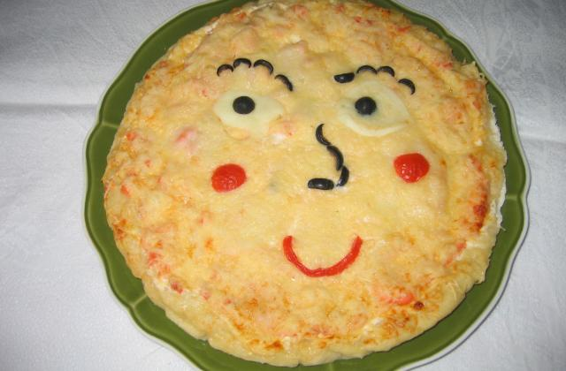 Pizza au saumon fumé rapide - Photo par Orchidée94