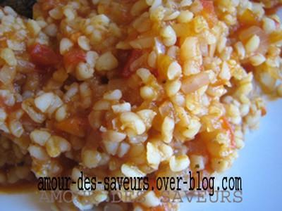 Boulgour aux tomates - Photo par marrou