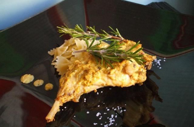Lapin à la moutarde et au cognac ! Pour 2 - Photo par Recette de Benzo
