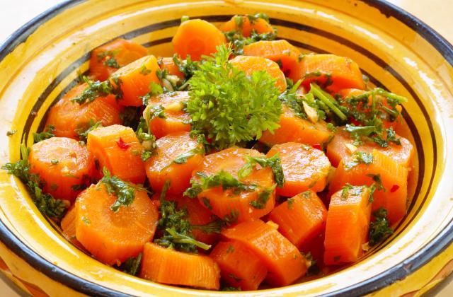Salade de carottes à l'ail et au persil - Photo par samoucJ