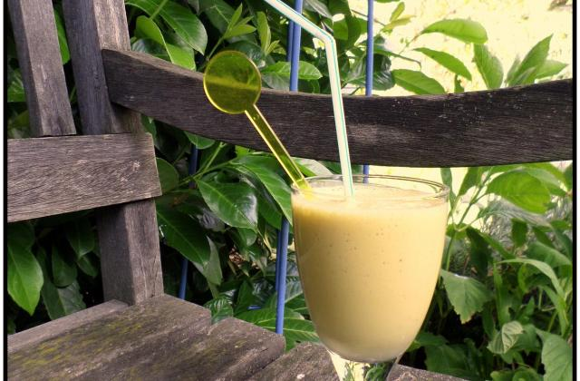 Milkshake banane - Photo par La petite cuisine de Sabine