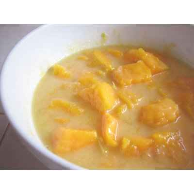 Soupe fraîche de mangues au parfum des îles - Photo par xriski