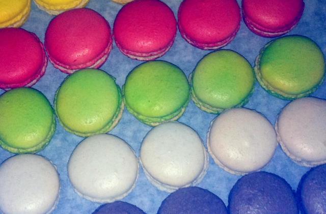 Les Macarons Lisses (Méthode à la meringue italienne) - Photo par Zeste de sucre