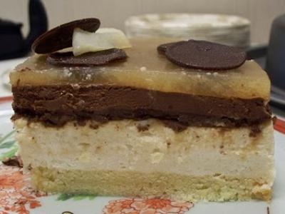 Bavarois poire-chocolat - Photo par la cuisine de nounouille