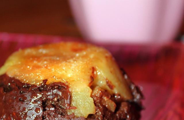 Pudding pommes chocolat - Photo par lbacca