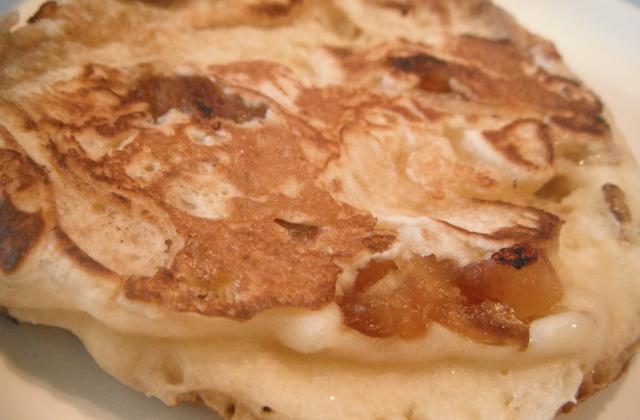 Pancakes aux dattes - Photo par aux papilles