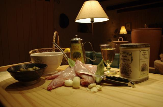 Lapin aux olives - Photo par Pickle06