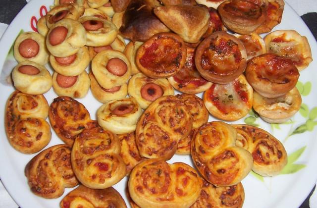 Rouleau et petites saucisses - Photo par winnydf