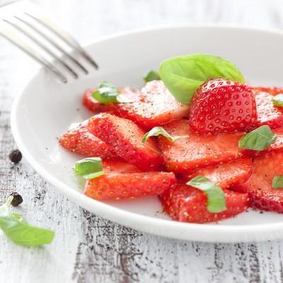 Carpaccio de fraises facile - Photo par findv