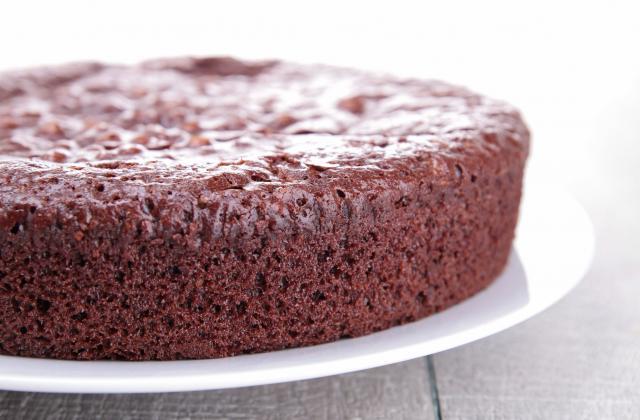 Gâteau au chocolat riche en beurre  - Photo par ptite pistache