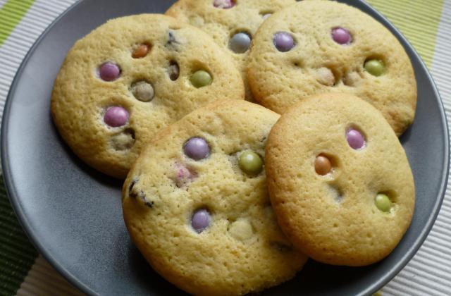 Cookies smarties raisin sec - Photo par lutin13