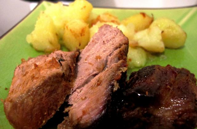 Agneau rôti sauce barbecue - Photo par Tartiff