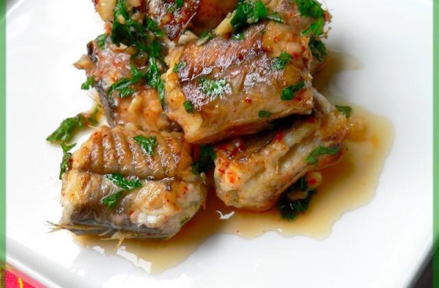 Anguille à la persillade - Photo par Chef Damien