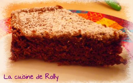Gâteau chocolat-coco - Photo par rolly