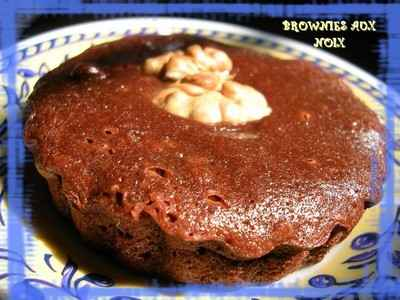 Brownies aux noix - Photo par 750g