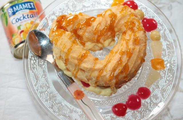 Cœurs à la crème et aux fruits - Photo par cocopi