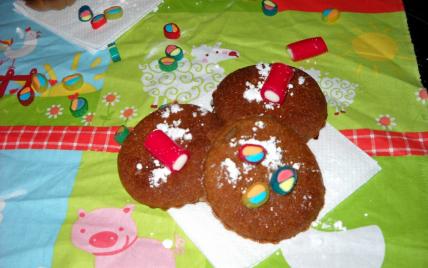 Mini muffins express à la crème de marron - Photo par clemen03