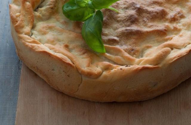 Tarte aux pommes de terre et camembert Le Rustique - Photo par 750g