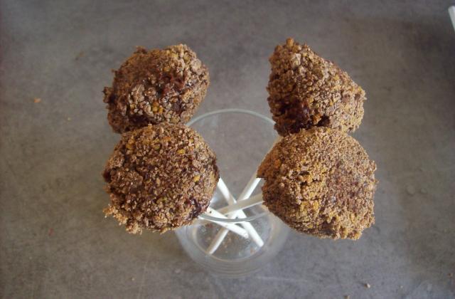 Cake pop à la crème de marrons - Photo par dalyz