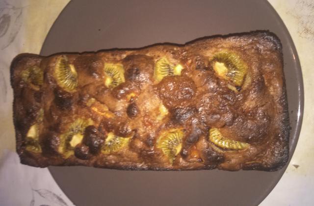 Cake aux pommes moelleux - Photo par Invité