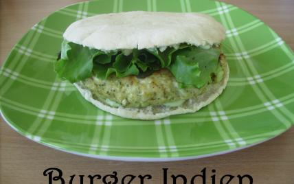 Burger Indien - Photo par laura kitchen