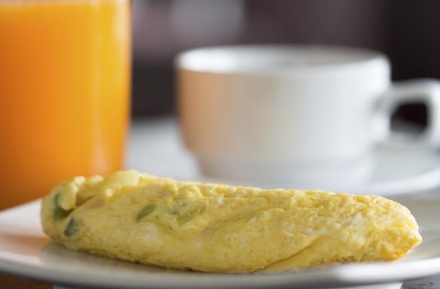 Omelette simple - Photo par domingHm