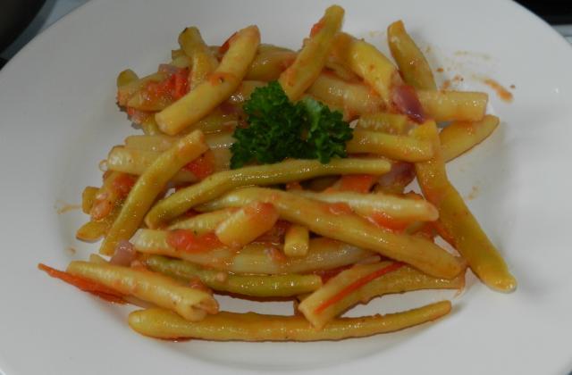 Haricot beurre à la tomate - Photo par 750g