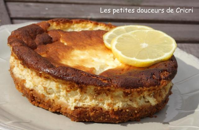 Fiadone façon cheesecake - Photo par Cricri les petites douceurs