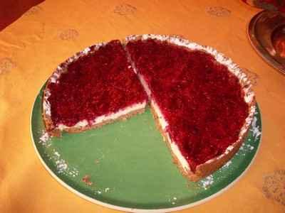 Cheesecake aux citrons et fraises - Photo par 750g