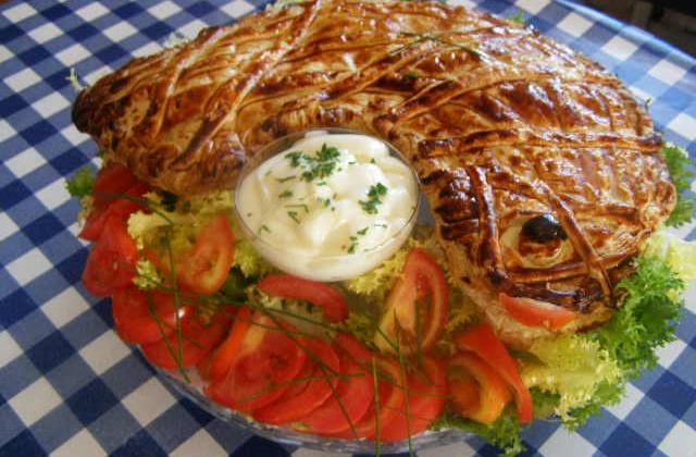 Saumon en croûte - Photo par findv