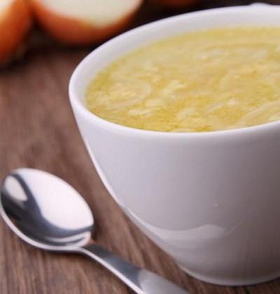 Soupe à l'oignon au Saint Albray et ses croutons - Photo par 750g