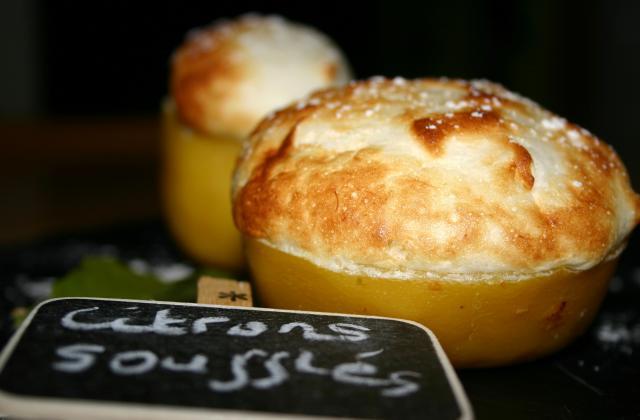 Citrons soufflés - Photo par Mes papilles enfolie