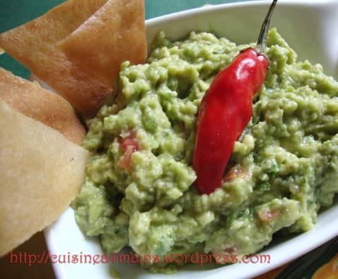 Guacamole minceur - Photo par LUMEGOURMANDE