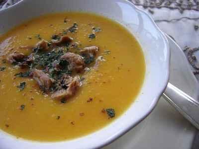 Soupe de Carottes anisées aux Châtaignes - Photo par foodie