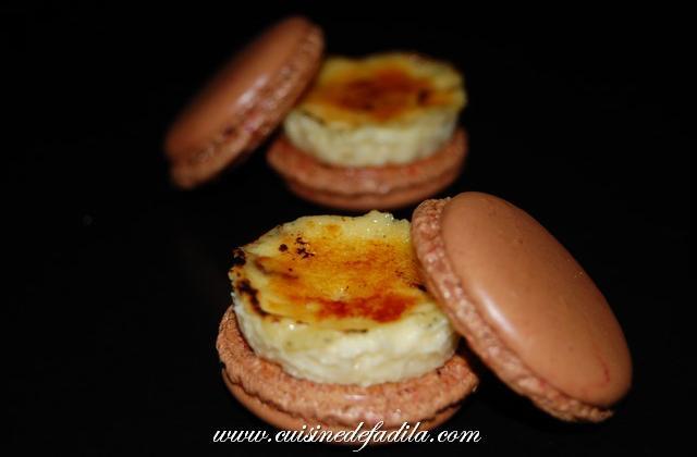 Macarons à la crème brûlée - Photo par FadilaB