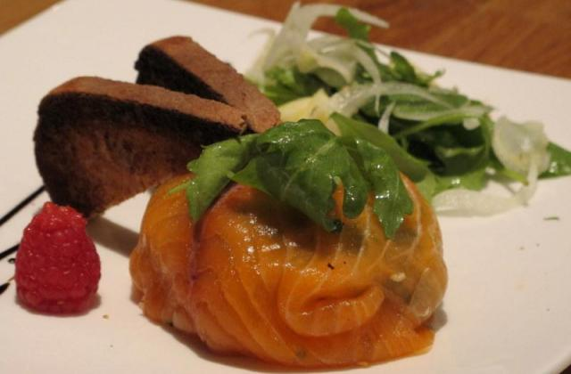 Coussin de saumon fumé et tagliatelles de légumes - Photo par eloala