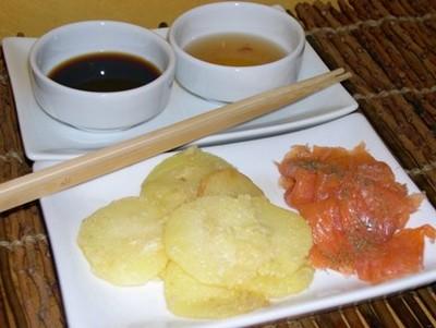 Tempuras de pommes de terre - Photo par pintoc
