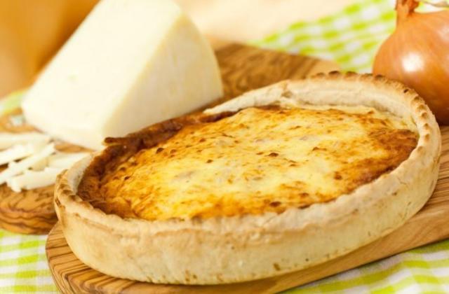 Quiche lorraine à la crème fromagère Elle & Vire - Photo par 750g