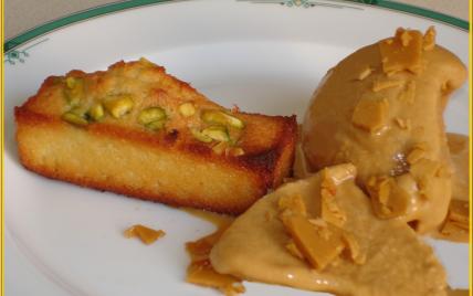 Glace caramel au beurre salé maison - Photo par zinabb