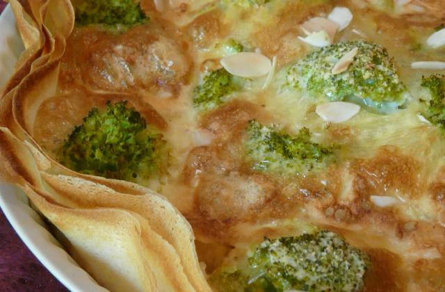 Quiche brie brocolis - Photo par bonpou
