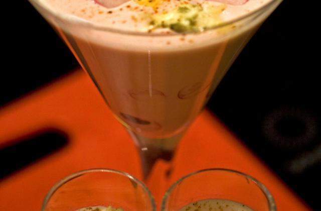 Crème de radis au roquefort Papillon et beurre salé - Photo par marysetn