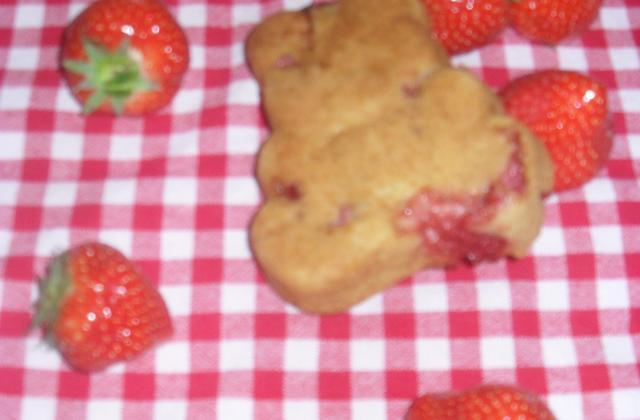 Oursons Boudeurs cueilleurs de fraises - Photo par mimiepetitesouris