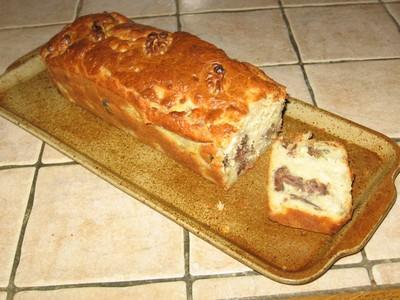 Cake aux topinambours et gésiers de canard - Photo par Capipiou