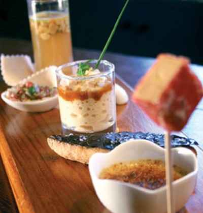 Variation de foie gras en Périgord - Photo par 750g