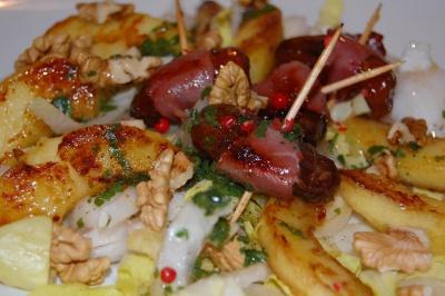 Salade gourmande acidulée - Photo par newelm